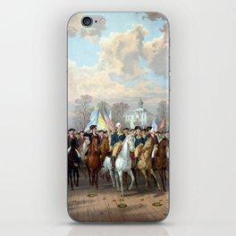 General Washington Enters New York iPhone Skin
