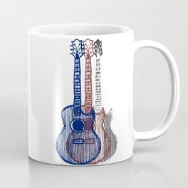 Patriotic Guitars Coffee Mug
