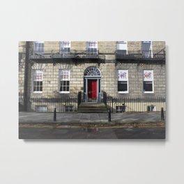 Building New Town Edinburgh Metal Print