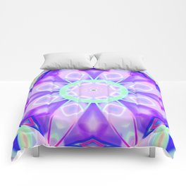 Abstract Flower AAA RR Comforters
