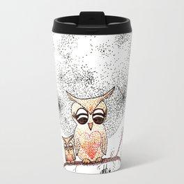 Owl's Sun Travel Mug