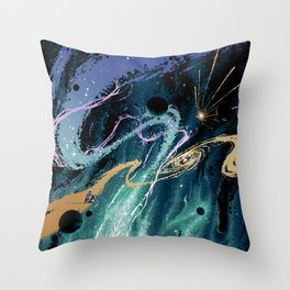 Surfer's Rest Throw Pillow