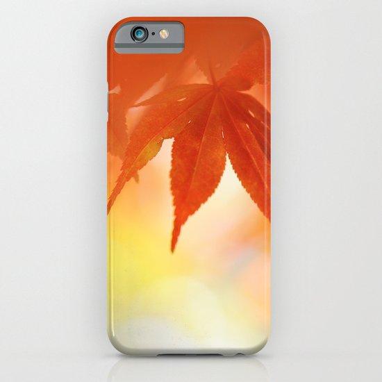 Autumnal tints iPhone & iPod Case