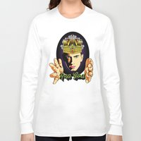 rap Long Sleeve T-shirts featuring Rap God by RJ Artworks