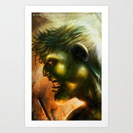 HULK I Art Print