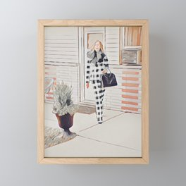 I'm positively bedeviled with meetings et cetera. Framed Mini Art Print