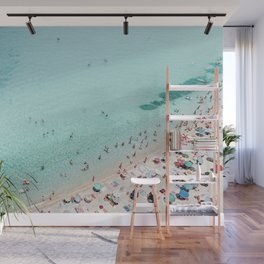 Busy Beach Wall Mural