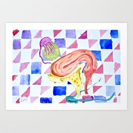 Green Eggs and Ham Art Print
