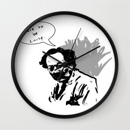 Dare to be lousy Wall Clock
