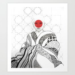 The Monk Art Print
