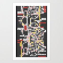 Dot, Dot, Dot Art Print