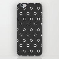 circles iPhone & iPod Skins featuring Circles by Nobu Design