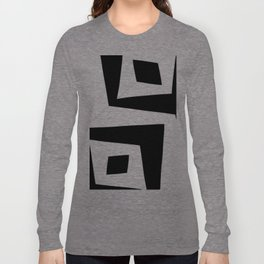 Squished Squares Long Sleeve T-shirt