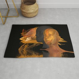 two colors Rug