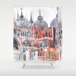 Basilica San Marco, Venezia Shower Curtain