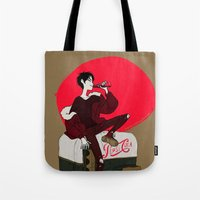 durarara Tote Bags featuring Pepsi Cola by rhymewithrachel