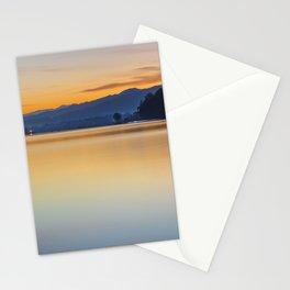 Orange sunrise Stationery Cards