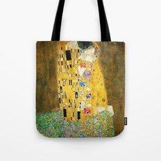 Gustav Klimt The Kiss Tote Bag