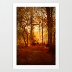Quiet Space. Art Print