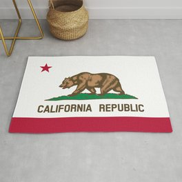 California Flag - State of California Rug