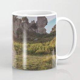Megalith at sunset Coffee Mug