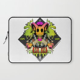 Vape Skull Laptop Sleeve