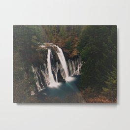 McArthur–Burney Falls Metal Print