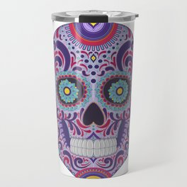 Colorful Catrina Travel Mug