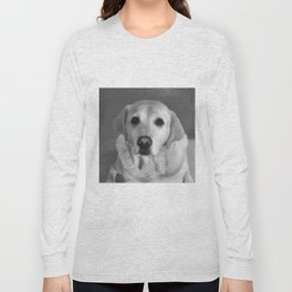 Cookies PLEASE! B&W Long Sleeve T-shirt