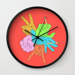 Handymano Wall Clock