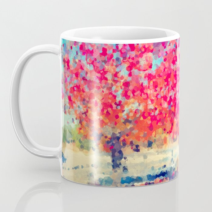 Orange Tree Watercolor  Coffee Mug