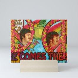 Here Comes the Sun Mini Art Print