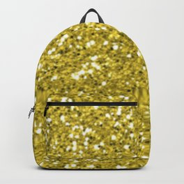 Glitter Gold Backpack