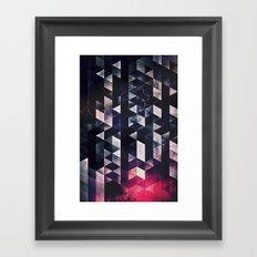 vyktyry yvvr dyyth Framed Art Print