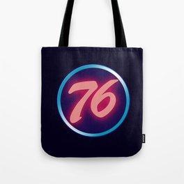 76 Neon Tote Bag