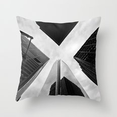 Philly X Throw Pillow