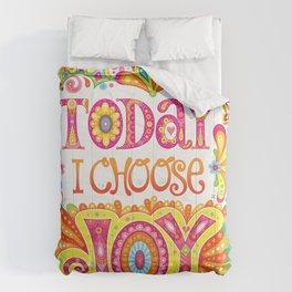 Today I Choose Joy Comforters