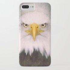Portrait of an Eagle iPhone 7 Plus Slim Case