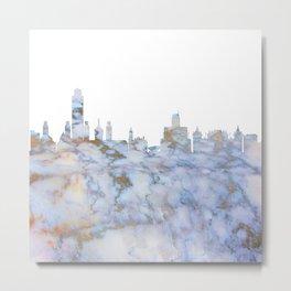 Albany New York Skyline Metal Print