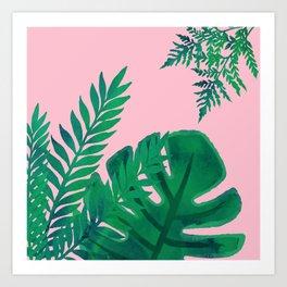 Planty Plants Art Print