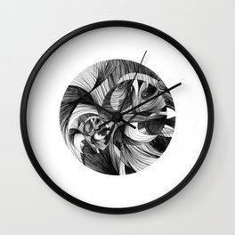 Rinse 2 Wall Clock