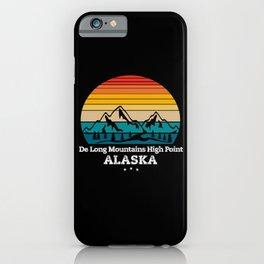 De Long Mountains High Point Alaska iPhone Case