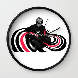 Color Bars  ( Elliott Smith ) Wall Clock