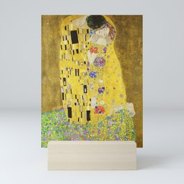 The Kiss - Gustav Klimt, 1907 Mini Art Print