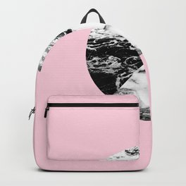 marble circle Backpack
