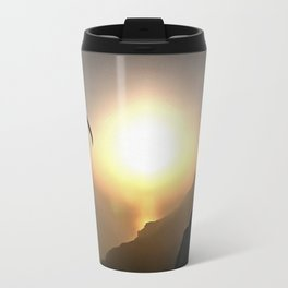 Paragliders Flying Without Wings Travel Mug