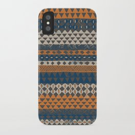 Hand-Painted Ethnic Pattern iPhone Case