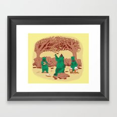 Rock The Forest Framed Art Print