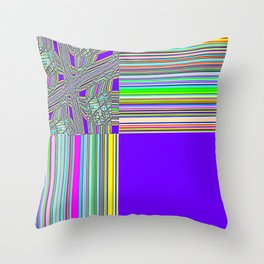 Re-Created Southern Cross XXI by Robert S. Lee Throw Pillow