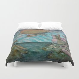 Far Off Land Duvet Cover